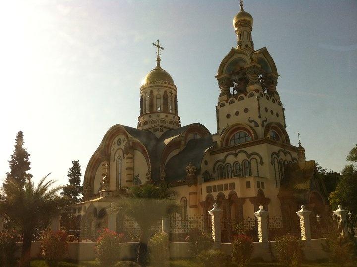 An orthodox church in Sochi
