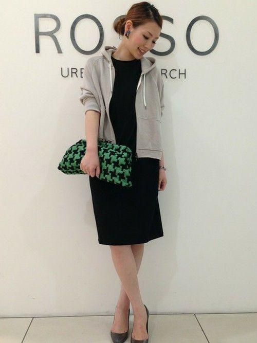 ROSSO 神戸店 Hamaさんのスウェット「ROSSO ポンチョパーカー」(ROSSO ロッソ)を使ったコーディネートです。