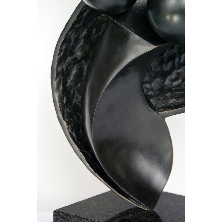Detail of my Bronze sculpture. Dancer by David Kounovsky