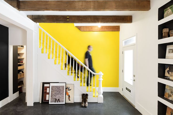 Warm, repurposed building materials are favored in this savvy renovation by MARK + VIVI.