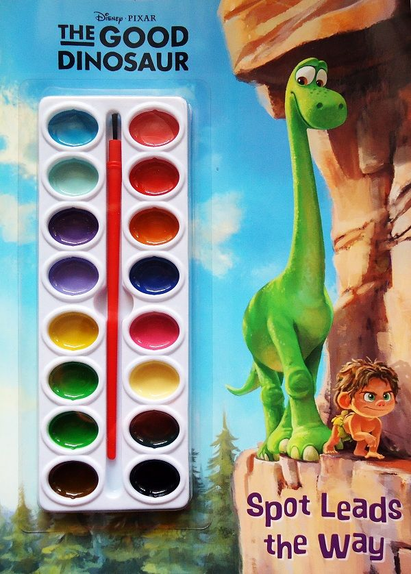 Buku Aktifitas Bahasa Inggris : Disney Pixar The Good Dinosaur : Spot Leads the Way