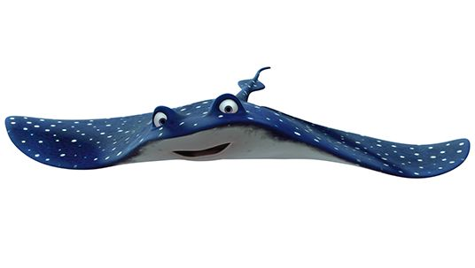 Finding Nemo Characters Mr Ray Mr ray finding nemo