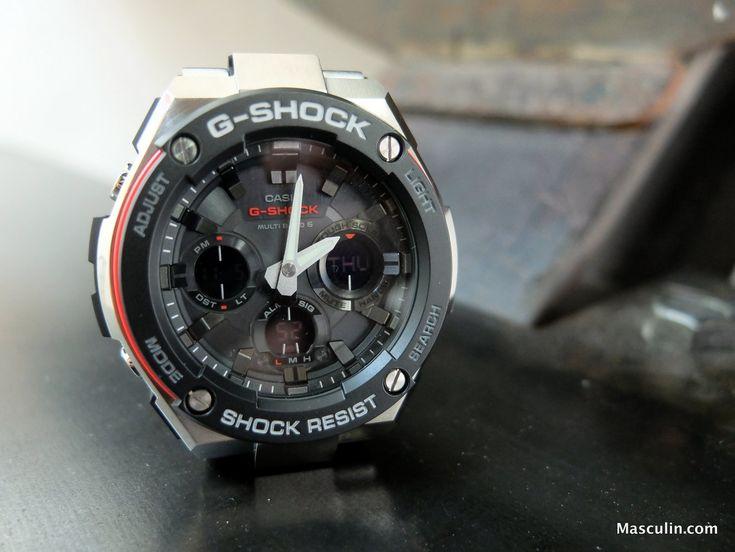 On a testé la montre G-Shock G-Steel de Casio - G-Steel : la montre G-Shock stylée et indestructible
