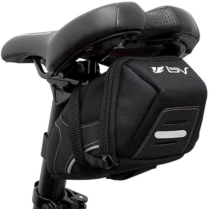 Bv Bicycle Y Series Strap On Bike Saddle Bag Bicycle Seat Pack