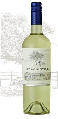 Casas del Bosque Sauvignon Blanc Reserva, new favorite, hints of jalapeño