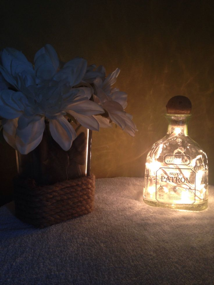 A personal favorite from my Etsy shop https://www.etsy.com/listing/452205306/patron-liquor-lamp