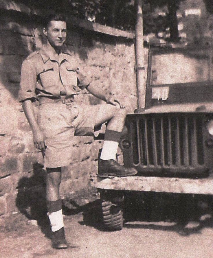 Arthur Chandler of Chalfont St Peter, younger brother of Edgar Chandler, in Trieste during WW2 (survived) and now aged 91.