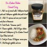 Thermomix Sri Lankan Coconut Chicken Curry