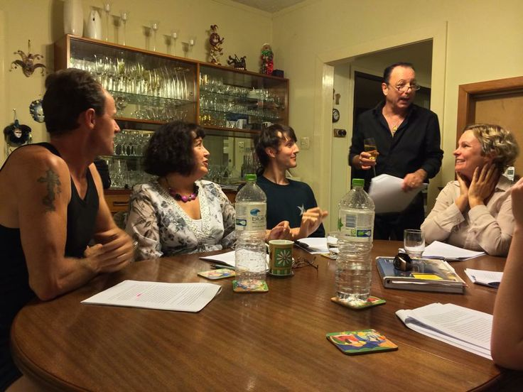 rehearsals for Dispensing with Murder