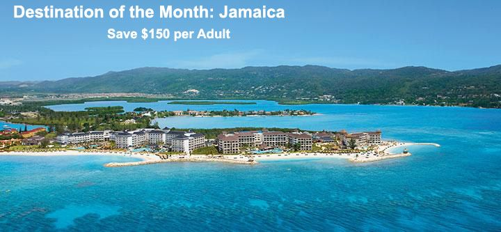 Destination of the Month: Jamaica - https://traveloni.com/vacation-deals/destination-month-jamaica/ #vacation #caribbean #jamaica