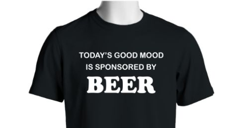 Want to stay in a good mood? Then this is your shirt! Get it here now: http://www.customteesandapparel.net/campaign/beermood_tee/