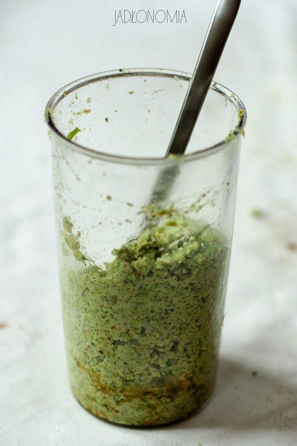 jadłonomia •  Pesto brokułowe
