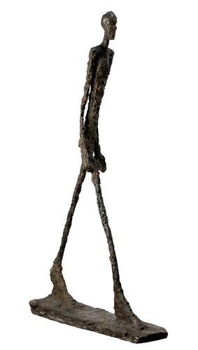 L'Homme qui marche - Alberto Giacometti - Passeur dArts