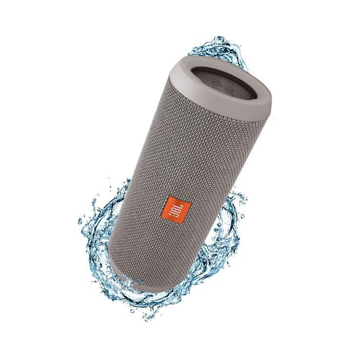 JBL Flip 3 refurbished Grey  De JBL Flip 3 is de volgende generatie in de bekroonde Flip serie; het is een complete draagbare Bluetooth-luidspreker met verrassend krachtig kamervullend stereogeluid. Deze ultra-compacte luidspreker wordt gevoed door een 3000mAh oplaadbare Li-ion batterij die 10 uur speeltijd biedt voor stereo audio van hoge kwaliteit. De Flip 3 heeft een duurzame spatwaterdichte afwerking en is verkrijgbaar in 8 frisse kleuren. De Flip 3 is veelzijdig geschikt voor alle…