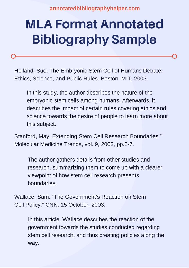 Easy Steps to Write an Annotated Bibliography