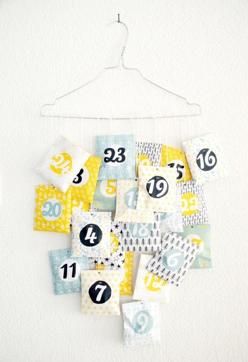 ☆ Free printable Advent Calendar