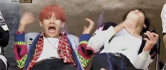 Omg so me when i see a cute korean guy walk by lol