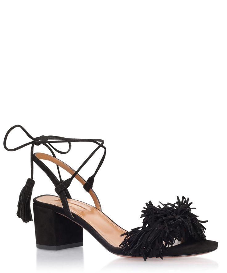 Aquazzura Black Wild Thing Sandals   Womenswear   Liberty.co.uk