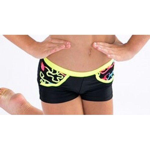 Giggles hot pants by Cosi G Dancewear
