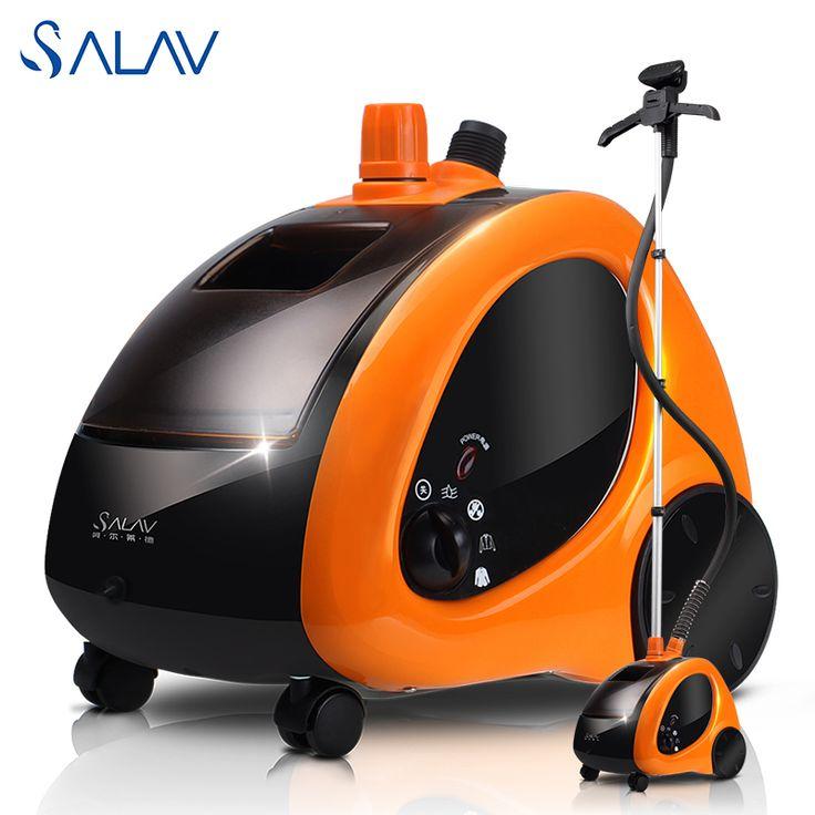 SALAV GS29-CN 1.4L 1500 W 45 s Ropa Vaporizador de Vapor Vertical 4 Ajustes de Potencia Rápido Barco De Vapor De Hierro desde Rusia