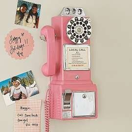 PB Teen $79.99 if I have a land line would love one like this near kitchen