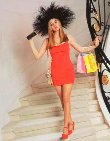 Cher was SO ahead. Our favourite Clueless character was rocking #bodycon dresses early on.