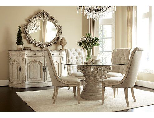 picture of american drew jessica mcclintock round dining table