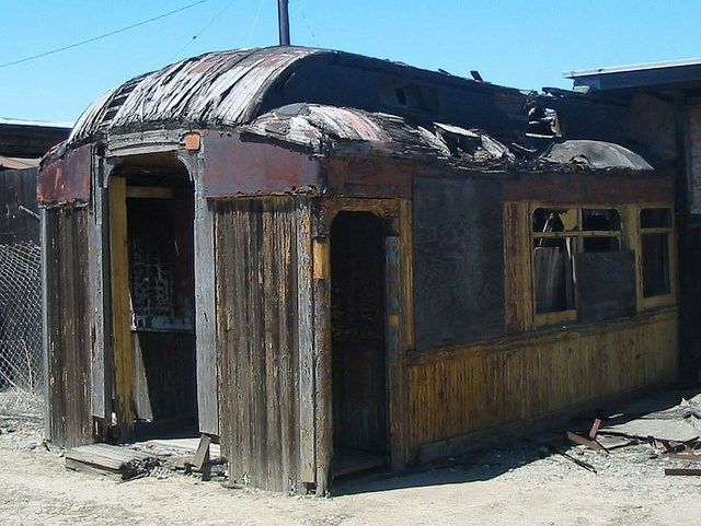 Old Railroad Car at Suisun, CA - 2 by Jack_Snell, via Flickr