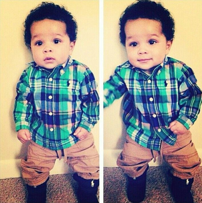 This is the cutest baby ever!  #hipster #baby #babyboy