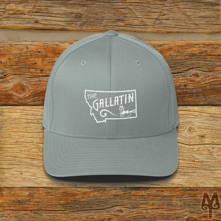 Gallatin River, Fly Fishing Ball Cap
