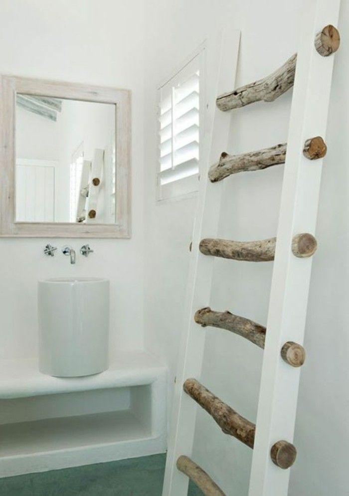 17 meilleures id es propos de porte serviette sur for Porte serviettes salle de bain