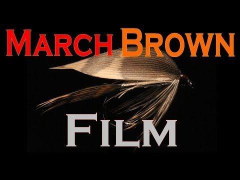 March Brown film/ Fly tying wet fly March Brown (Вязание классических мокрых мушек) - YouTube
