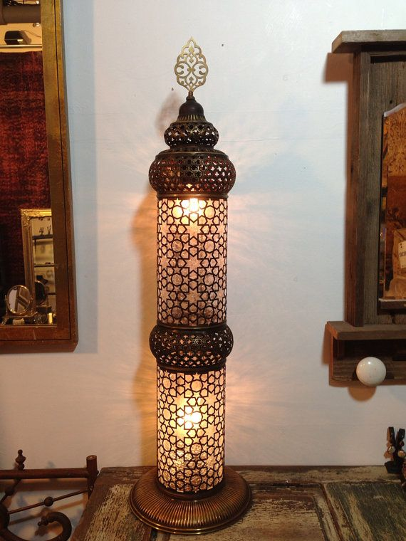 Hey, I Found This Really Awesome Etsy Listing At Https://www. Moroccan  Floor LampNight LampsBedroom LightingMoroccan StyleFloor ...