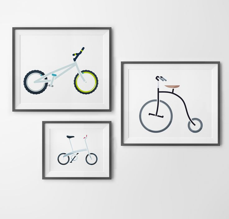 Boards of bikes on Behance