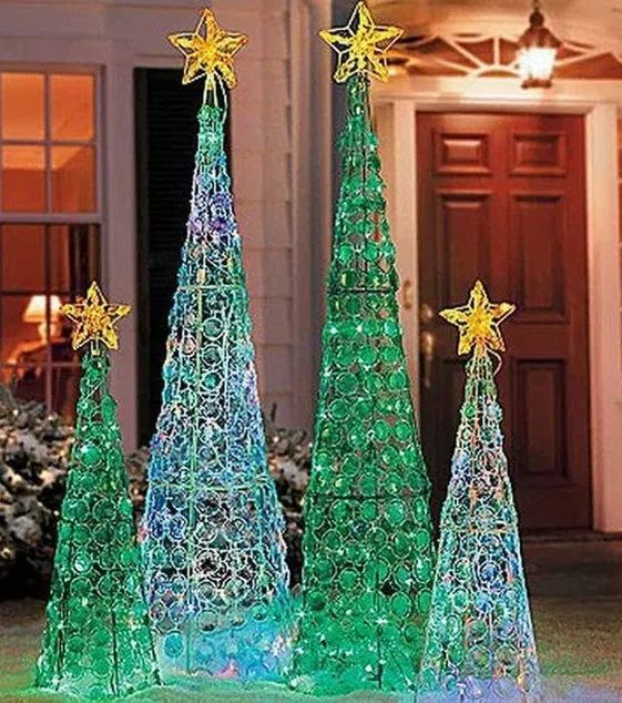 25 trendy outdoor christmas decorations 23 | Christmas ...