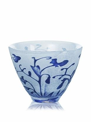 64% OFF Kosta Boda Floating Flowers Bowl, Blue