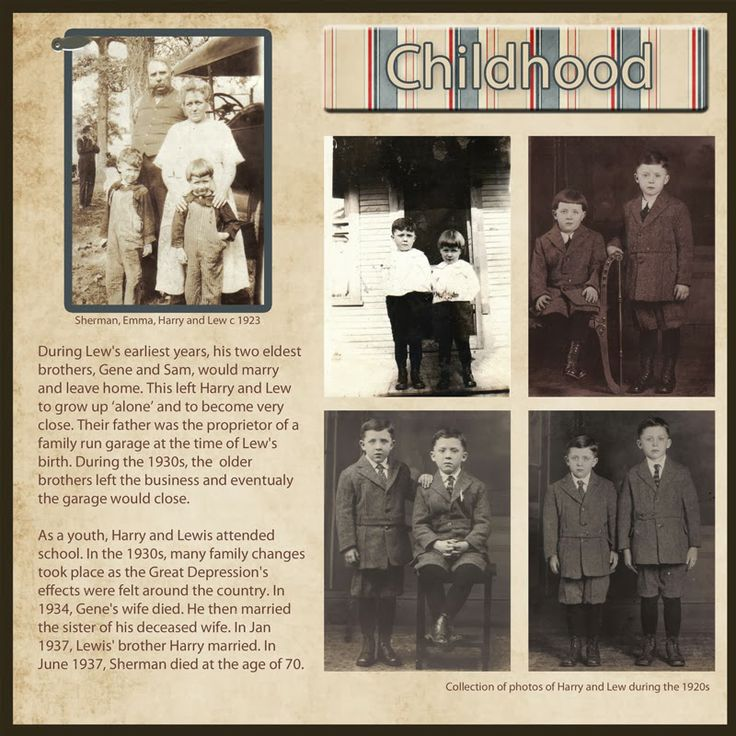 Heritage Scrapbook Page Ideas from The Patient Genealogist