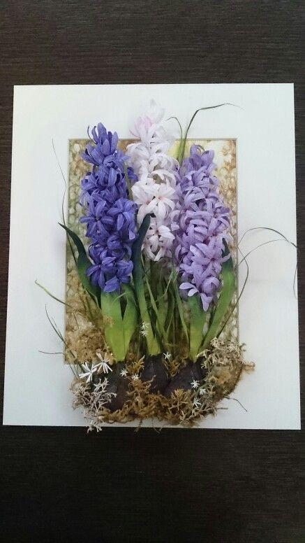 "Кристальные цветы ""Гиацинты"""