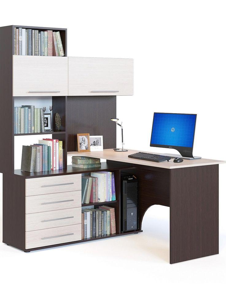 Стол компьютерный КСТ-14Л - купить в интернет магазине Мебелион.ру. Стол компьютерный КСТ-14Л  по низким ценам с доставкой по Москве и России! Мебелион.ру