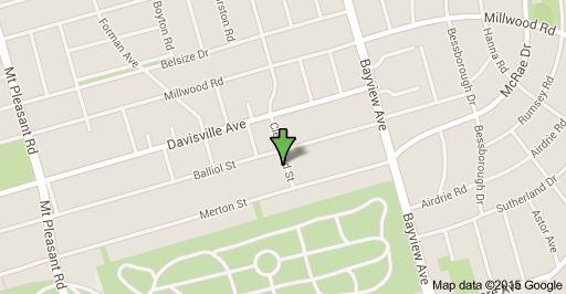 Map of 30 Cleveland St, Toronto, ON M4S 2W1