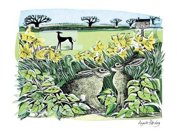 Look Out - Artists prints - Prints - Twenty Twenty Gallery | Contemporary British Art and Craft Angela Harding