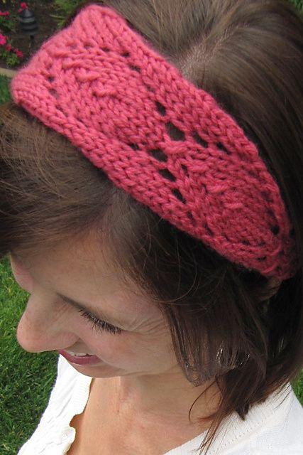 Knit Headband Pattern Ravelry : 1000+ ideas about Knit Headband Pattern on Pinterest ...