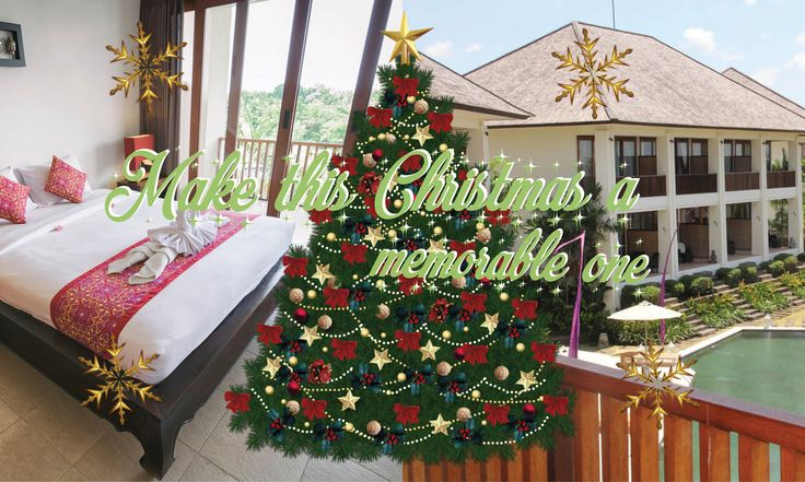 We are playing for Santa Claus this december! Celebrate Christmas at Sahaja Sawah Retreat. We offer a special 40% discount on a minimum stay of 3 nights in our Sawah villas (valid 23 till 26 december). For more information and reservations check out our website #balivilla #bali #villa #baliresort #promotion
