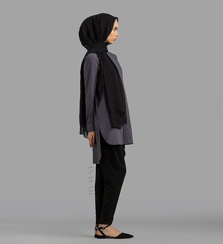 Pinterest: @eighthhorcruxx. INAYAH. Black and grey outfit