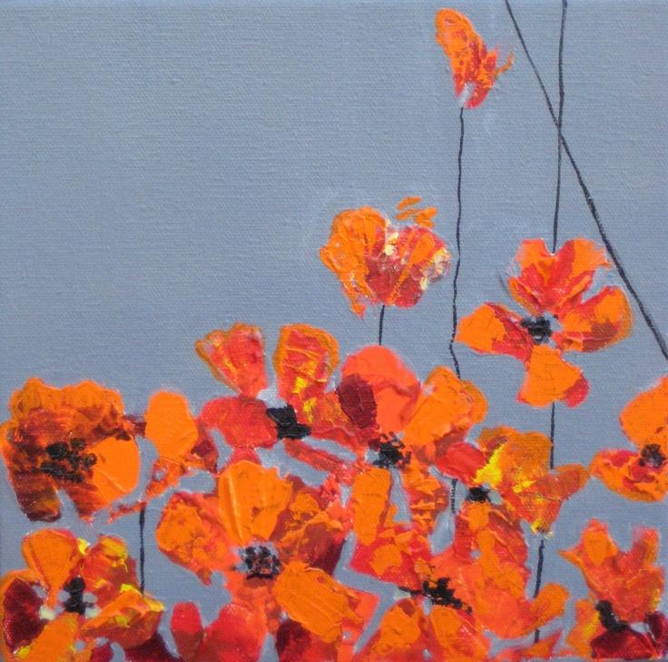 original painting orange - Google Search