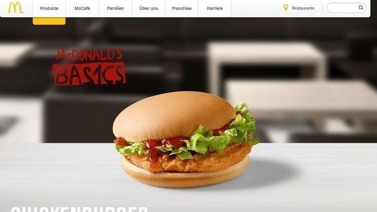 Die 10 magersten Produkte bei McDonald's | eKitchen