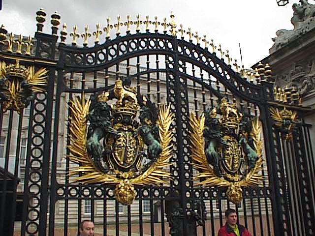 Buckingham Palace Gates Awsome Iron Gates