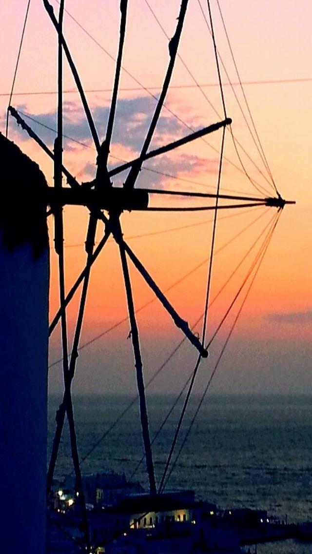 #Mykonos under #August #sunset !