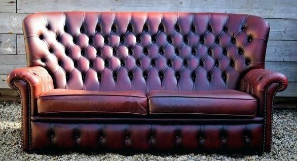 Best Of Chesterfield High Back Sofa Or A Leather Chesterfield