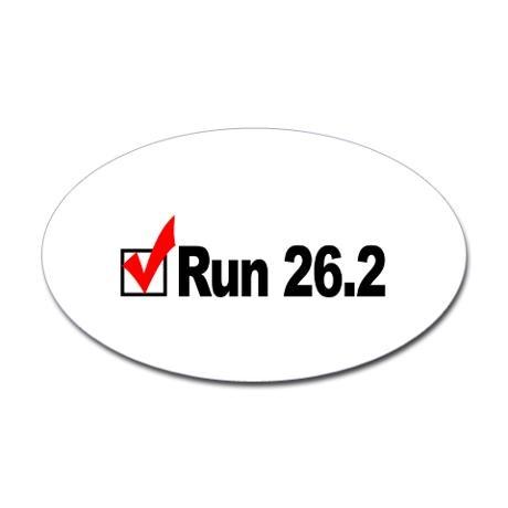 Run 26.2 Check!